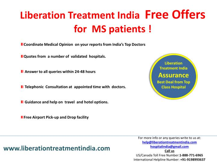 Liberation Treatment India