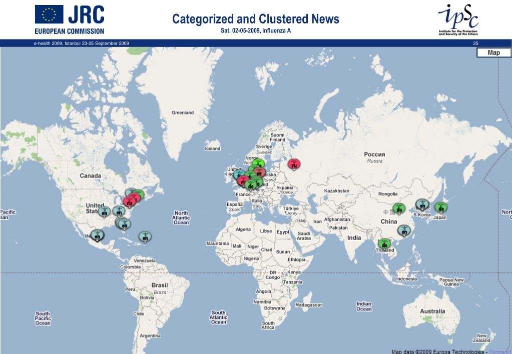 Categorized and Clustered News