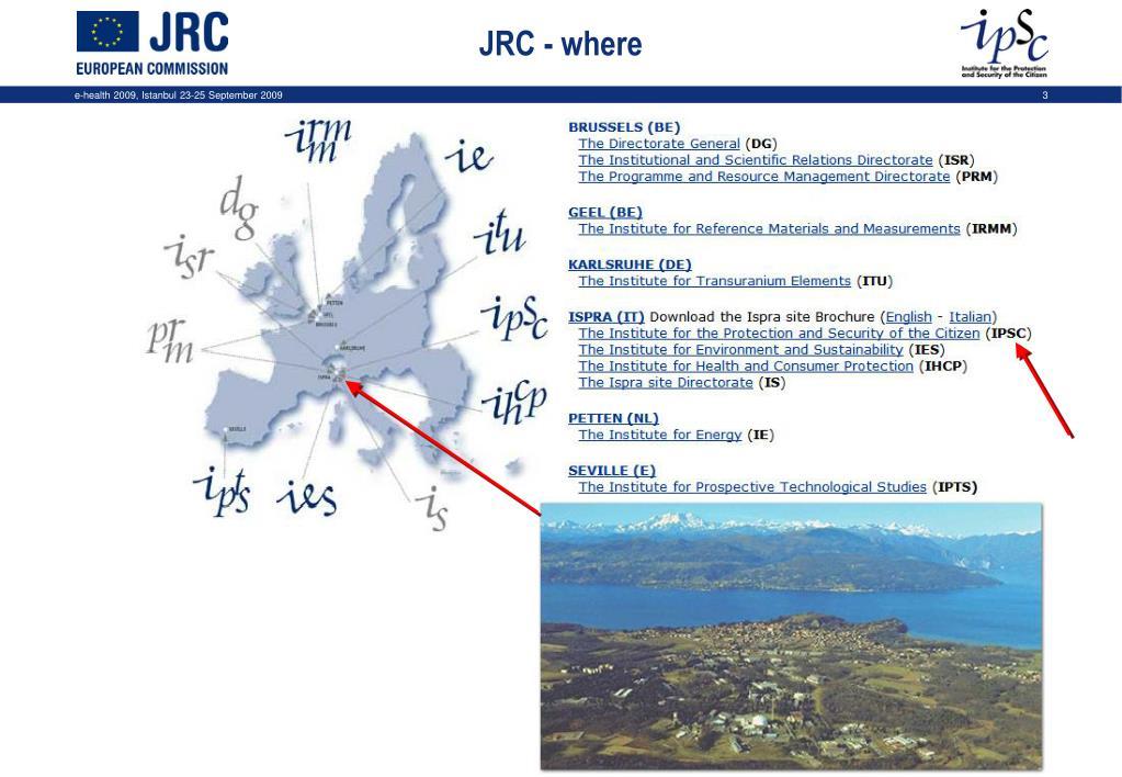 JRC - where