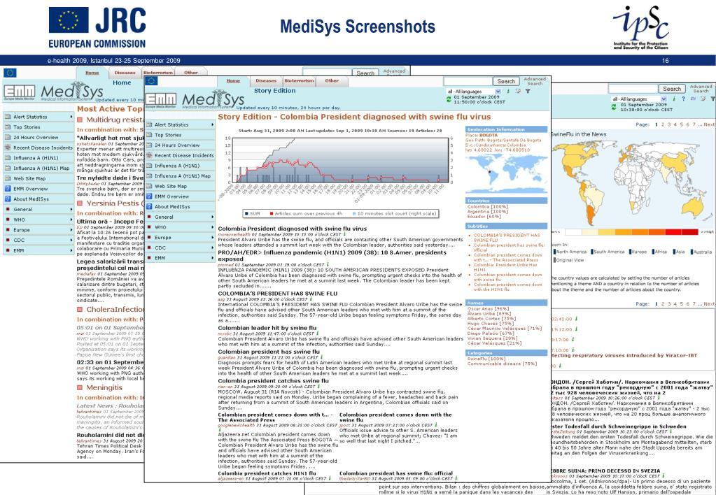 MediSys Screenshots