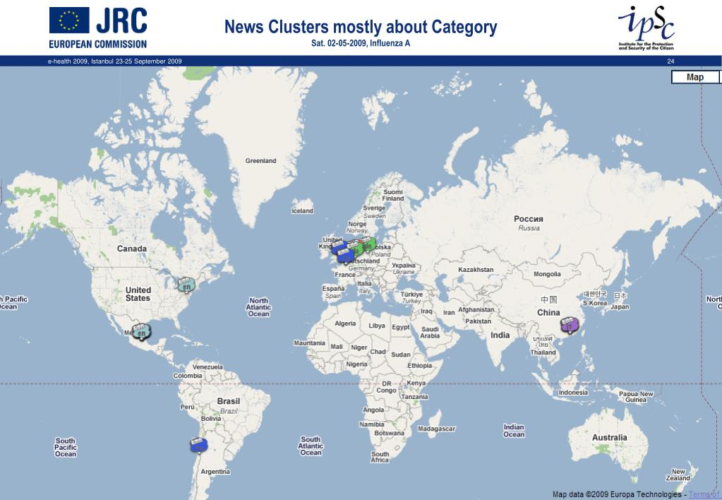 News Clusters mostly about Category