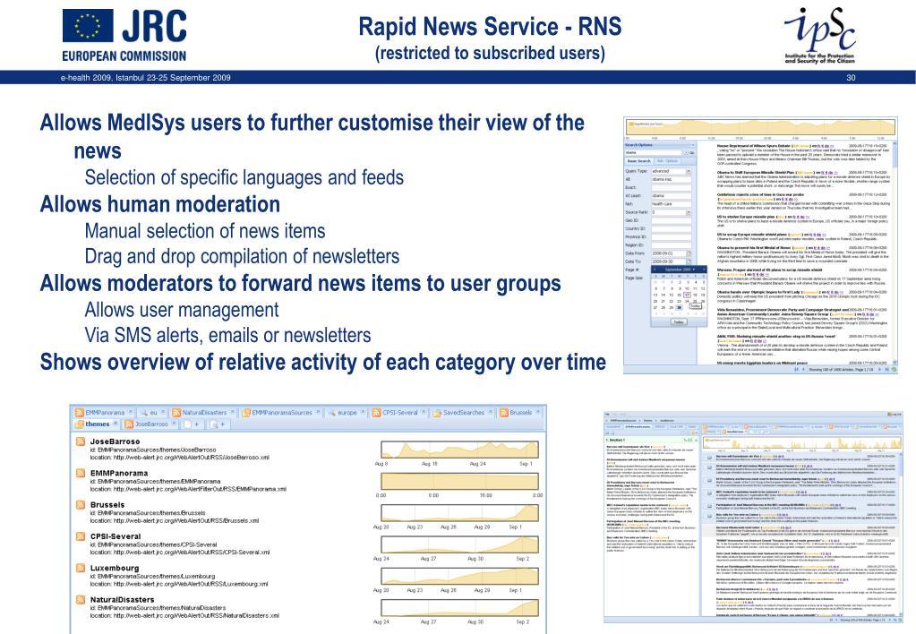 Rapid News Service - RNS
