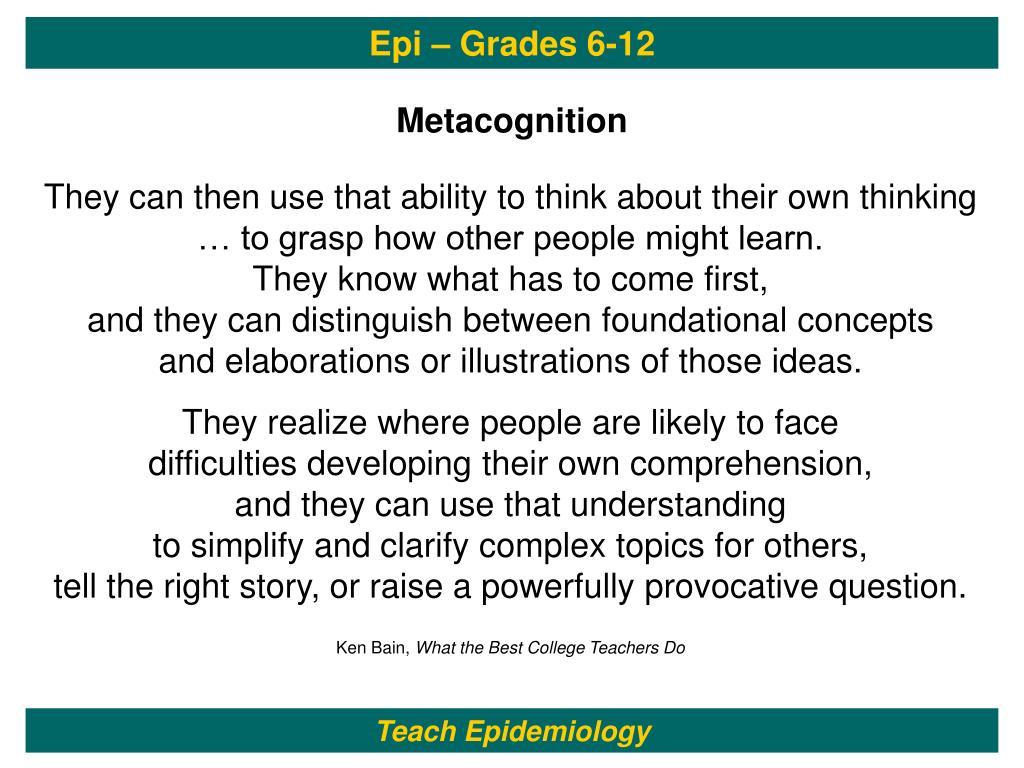 Epi – Grades 6-12