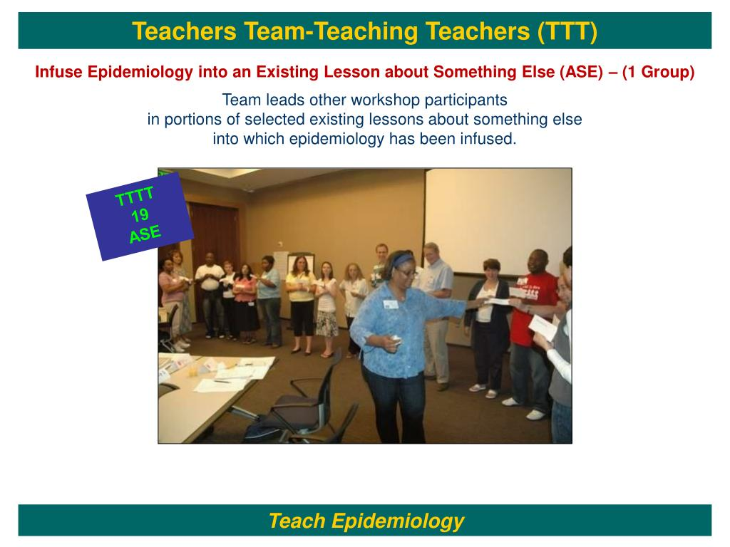 Teachers Team-Teaching Teachers (TTT)