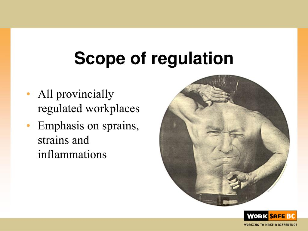 All provincially regulated workplaces