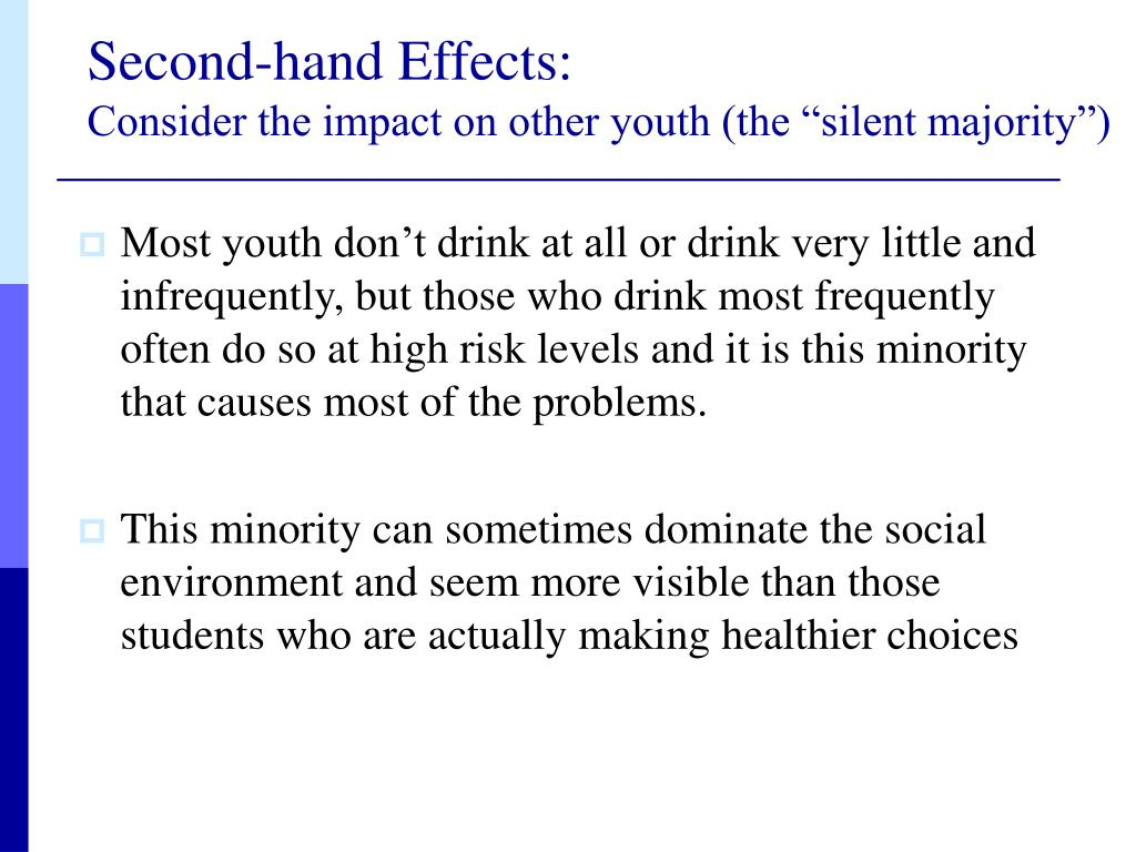 Second-hand Effects:
