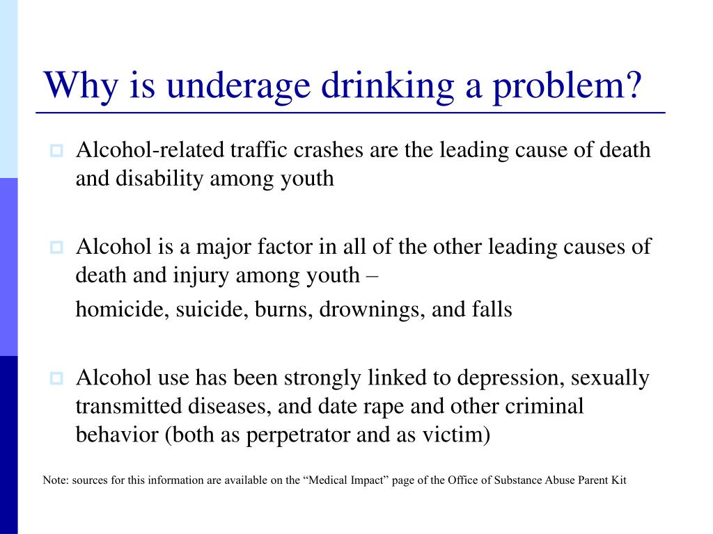 Alcohol-related traffic crashes are the leading cause of death and disability among youth