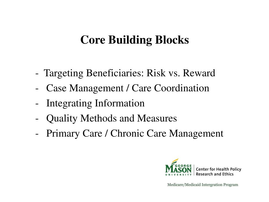 Core Building Blocks