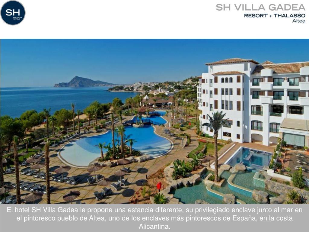 El hotel SH Villa Gadea le propone una estancia