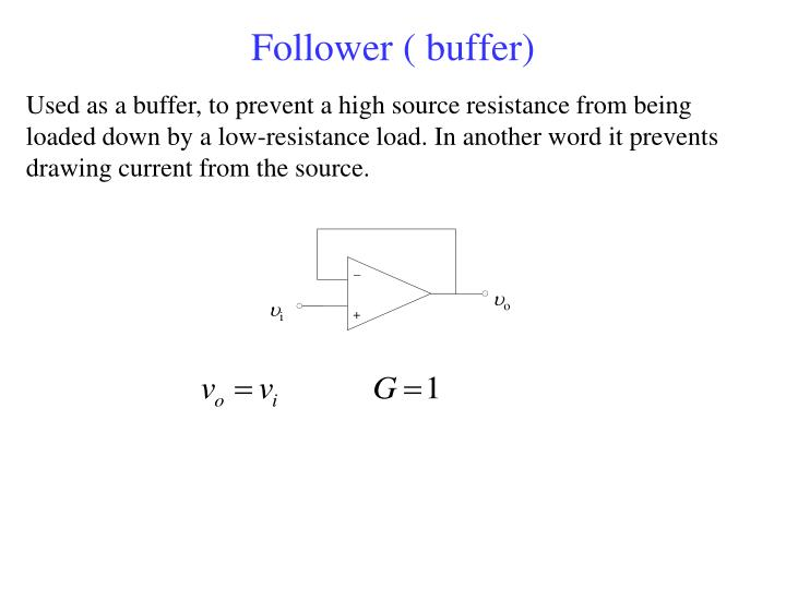 Follower ( buffer)
