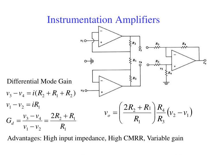 Instrumentation Amplifiers
