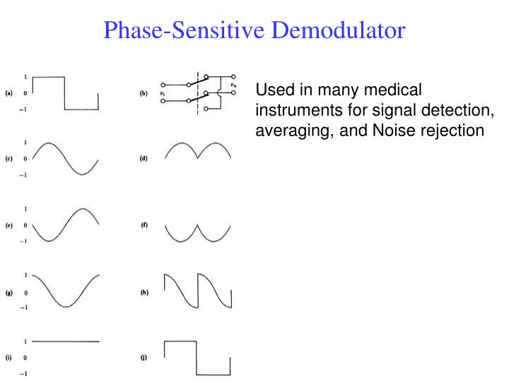 Phase-Sensitive Demodulator