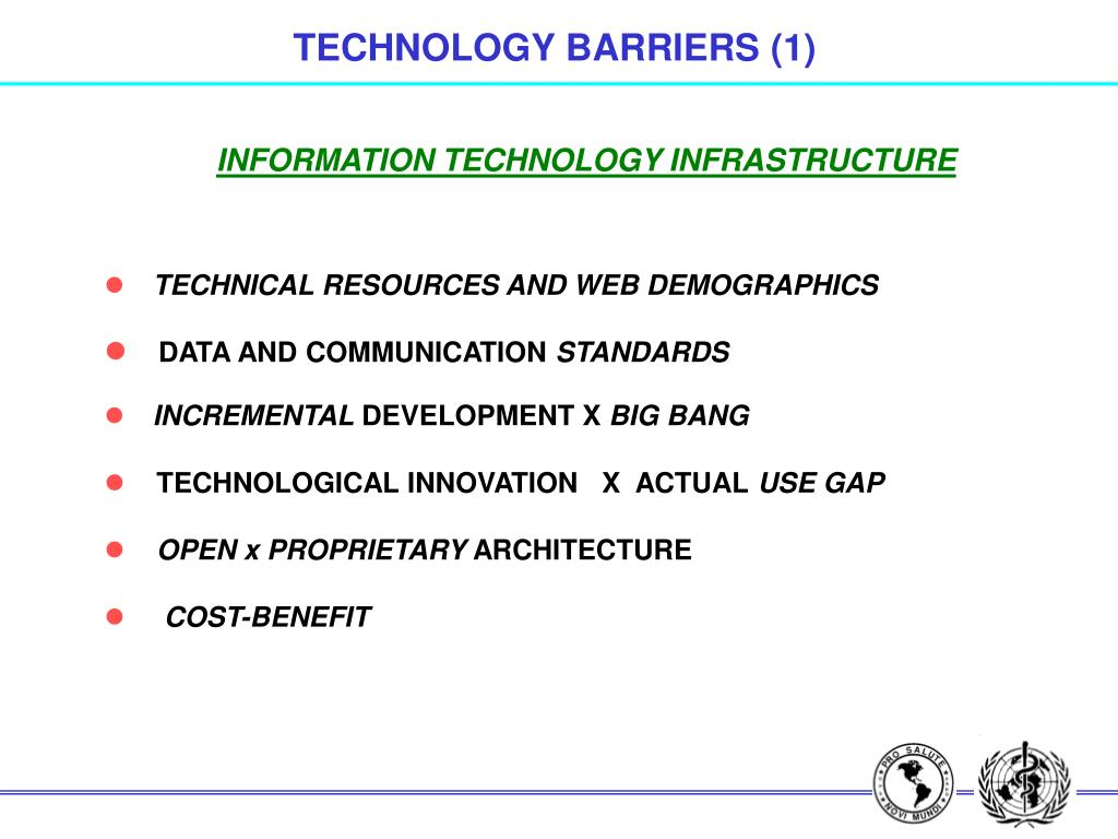 TECHNOLOGY BARRIERS (1)