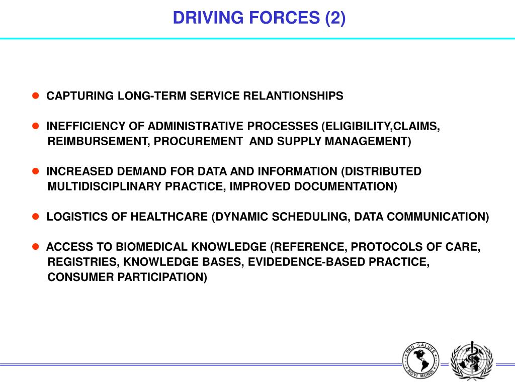 DRIVING FORCES (2)
