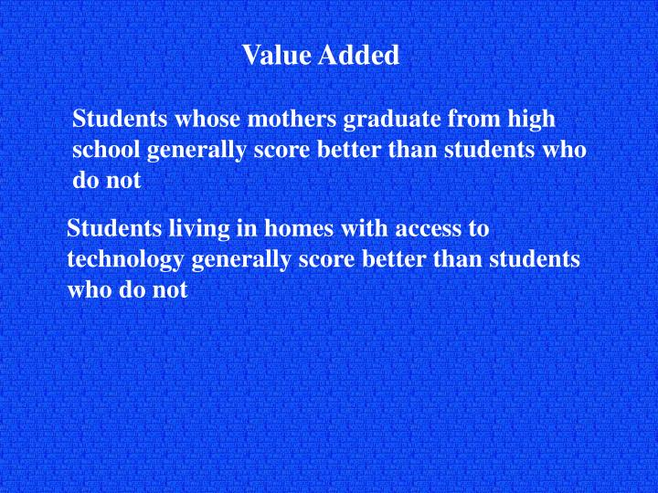 Value Added