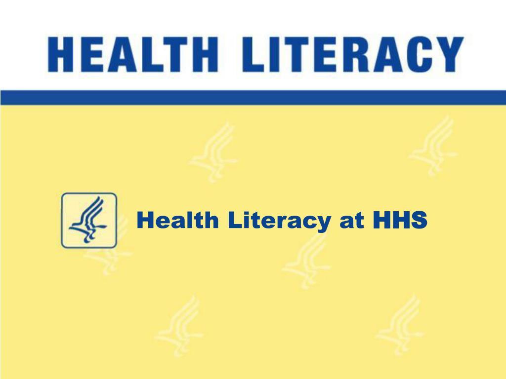 Health Literacy at