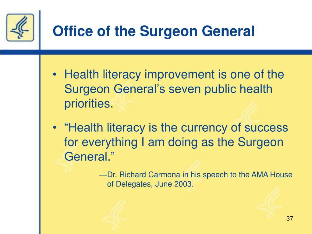 Office of the Surgeon General