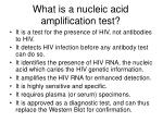 what is a nucleic acid amplification test