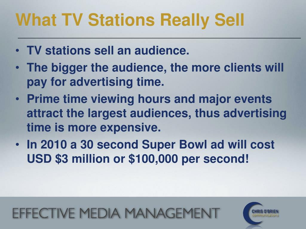 What TV Stations Really Sell
