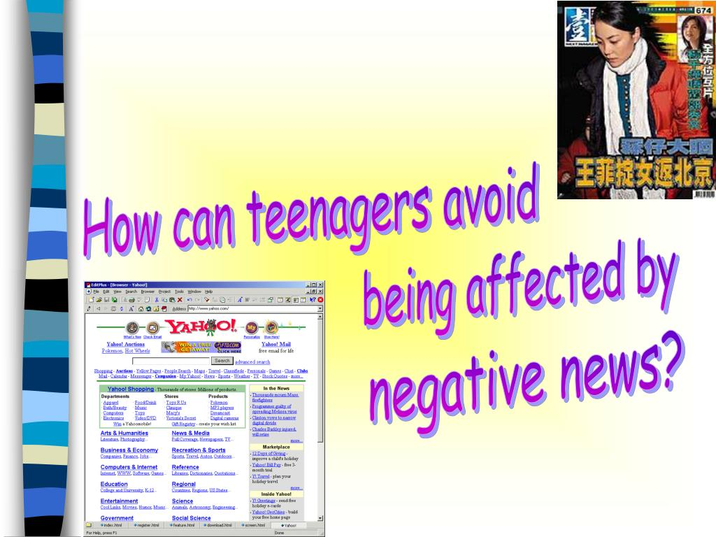 How can teenagers avoid