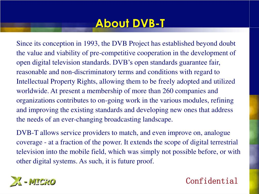 About DVB-T