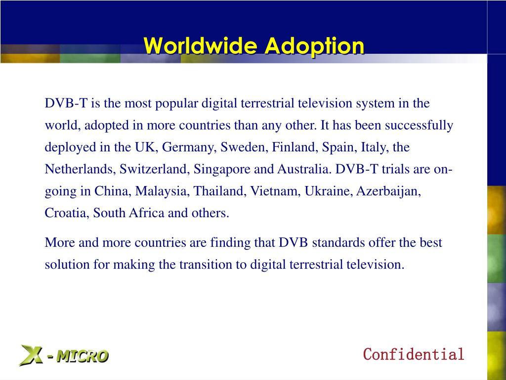 Worldwide Adoption