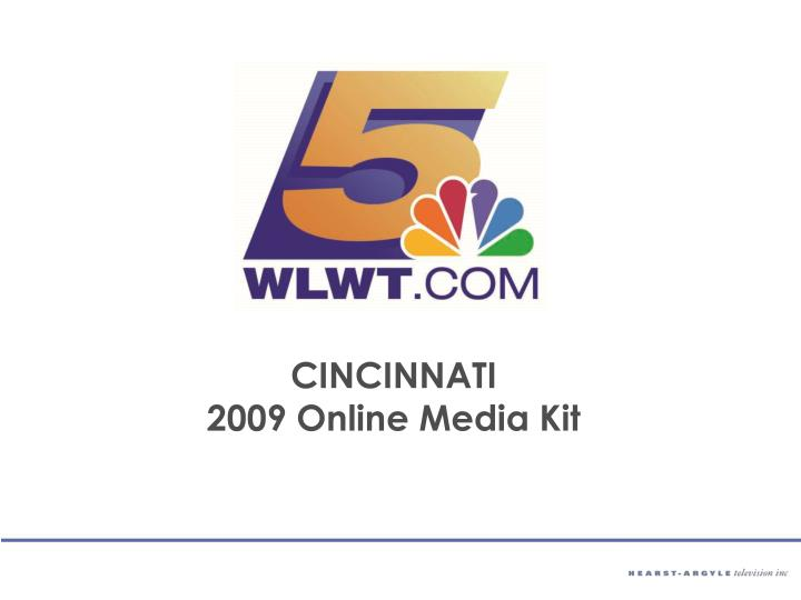 Cincinnati 2009 online media kit