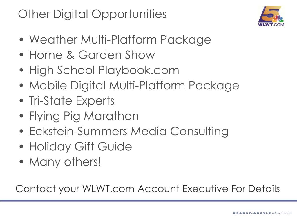 Other Digital Opportunities