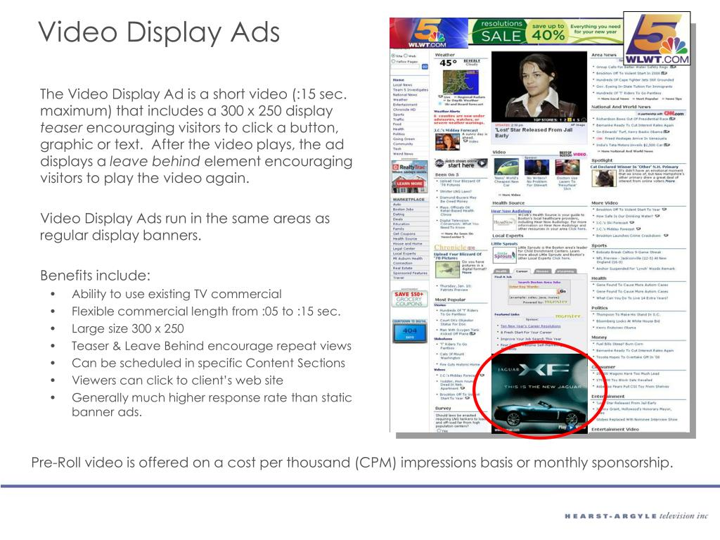 Video Display Ads