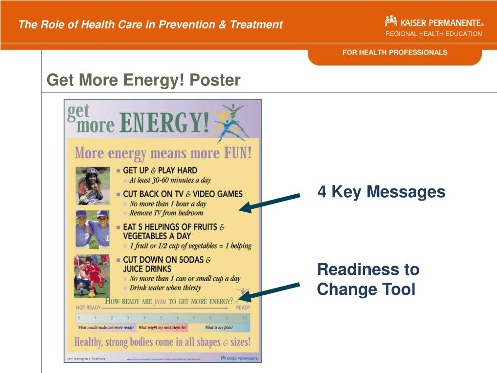 Get More Energy! Poster