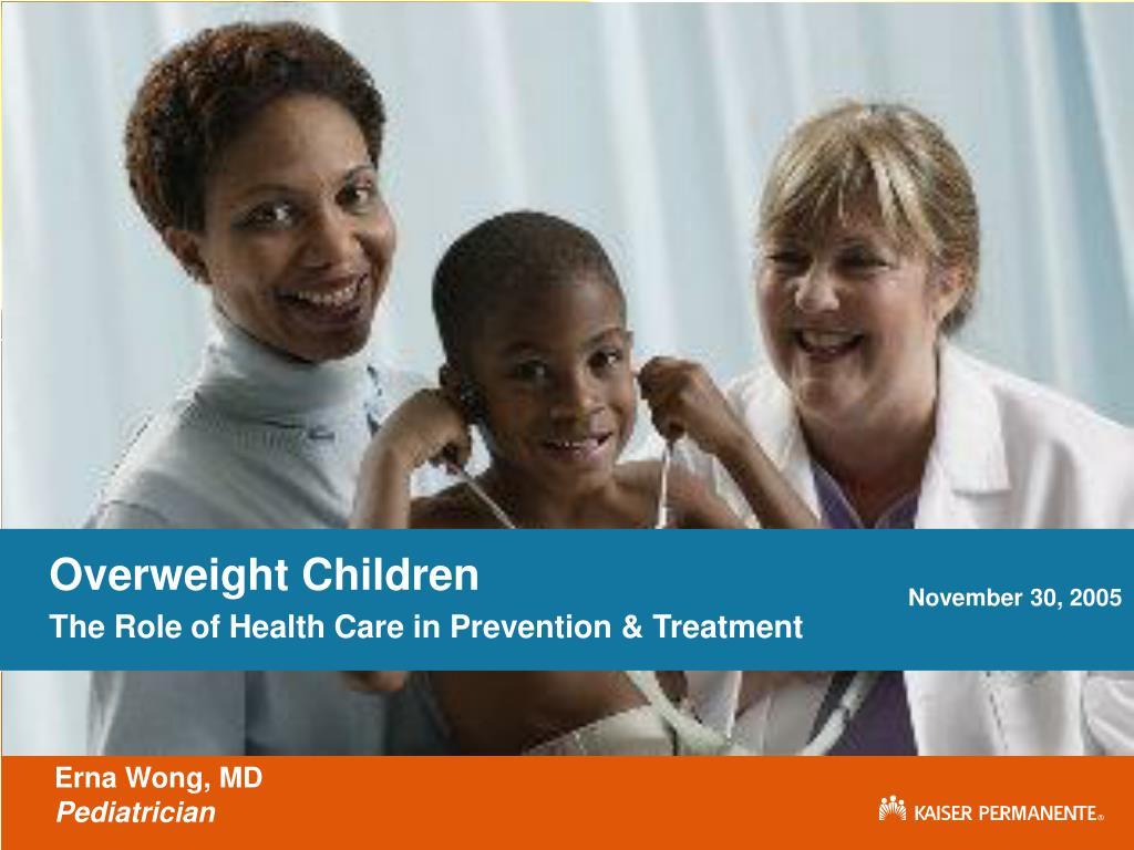 Overweight Children