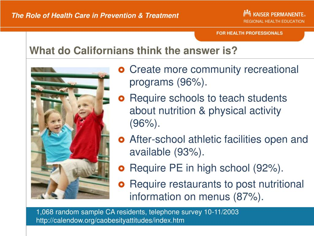What do Californians think the answer is?