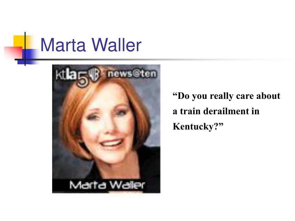 Marta Waller