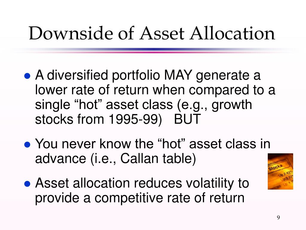 Downside of Asset Allocation