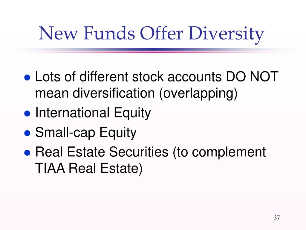 New Funds Offer Diversity