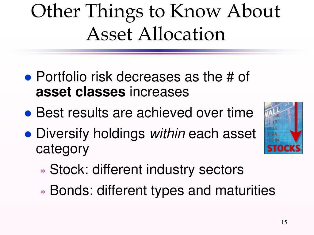 Other Things to Know About Asset Allocation