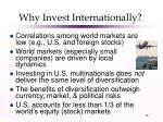 why invest internationally