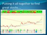 putting it all together to find great stocks