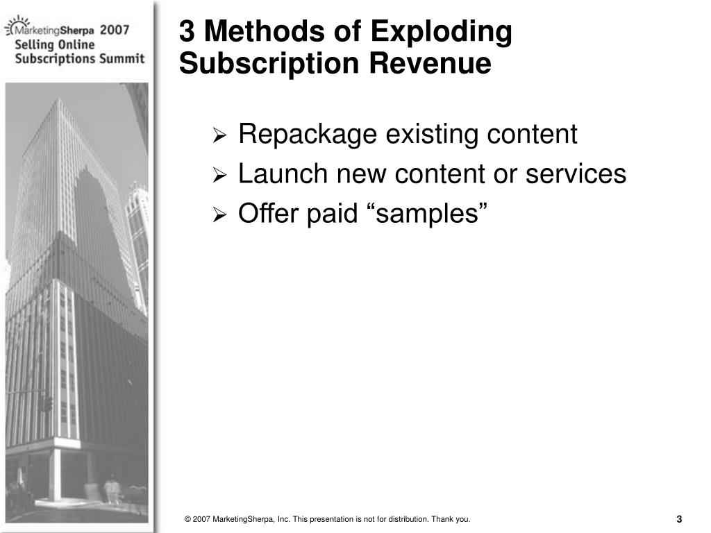 Repackage existing content