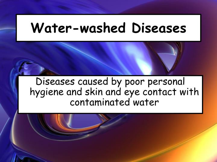 Water-washed Diseases