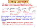 all loop generalization