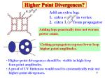 higher point divergences