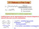 uv finiteness at four loops