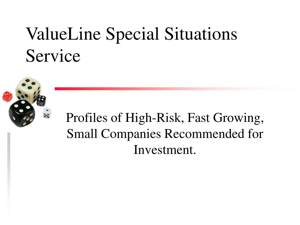 ValueLine Special Situations Service