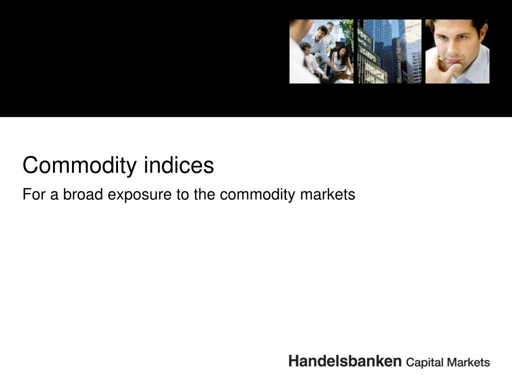 Commodity indices
