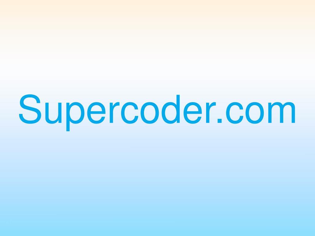 Supercoder.com