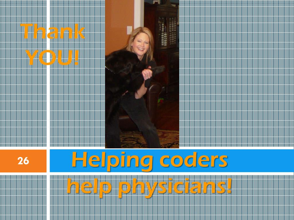 Helping coders help physicians!