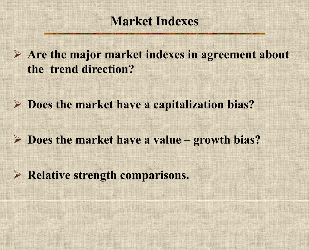 Market Indexes