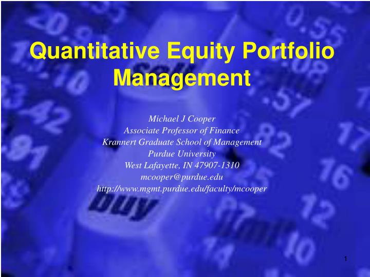 Quantitative equity portfolio management l.jpg
