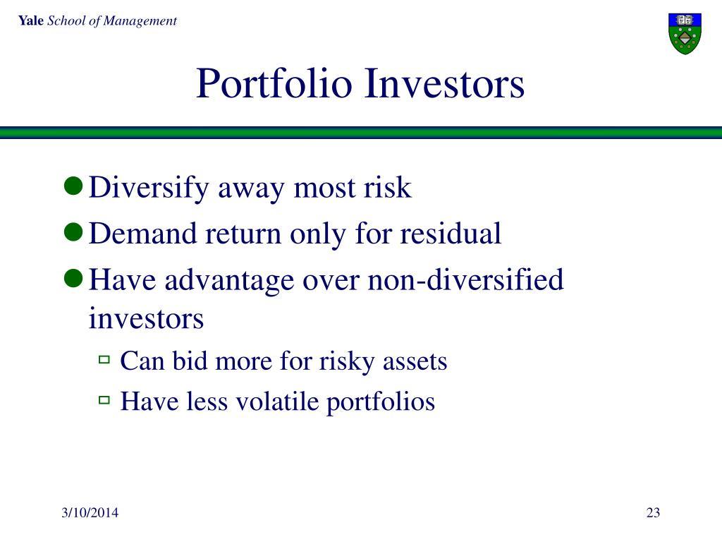 Portfolio Investors